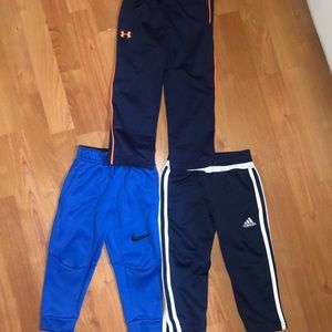 Size 2T Adidas, Under Armour, and Nike Pants